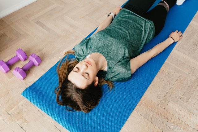 meditation and exercise may help relive stress and pain and prevent insomnia