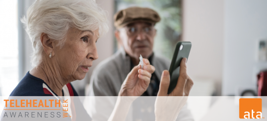 elderly telemedicine consults on the viosapp vios clinic on telehealth awareness 2021
