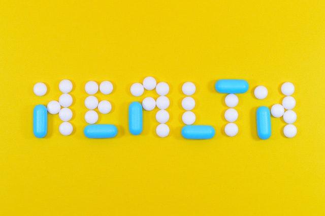 health written with opioid prescription medications pills